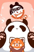 Panda and Red Panda