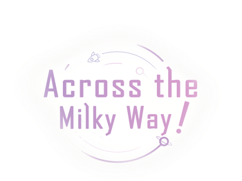 Across the Milky Way!