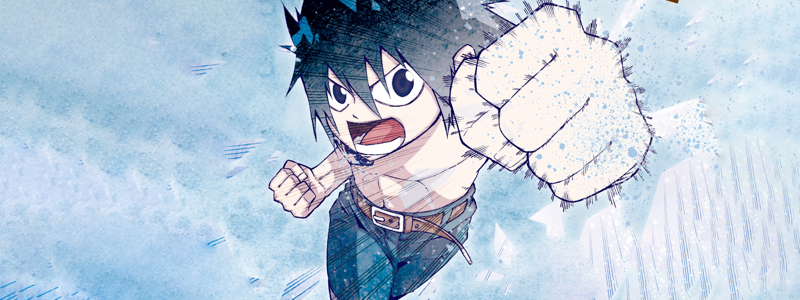 Fairy Tail Ice Trail  banner