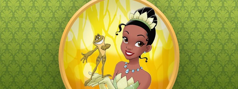 The Princess And The Frog banner