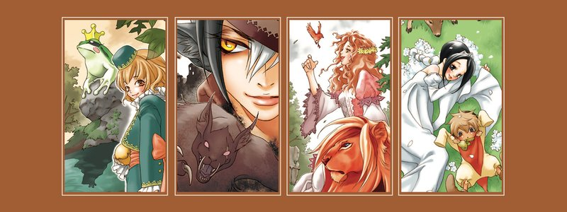 Grimms Manga Tales banner